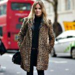 Abrigo XXL de Leopardo