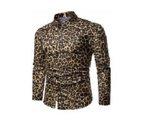Camisa Animal Print Hombre