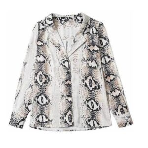 Camisa Animal Print Mujer