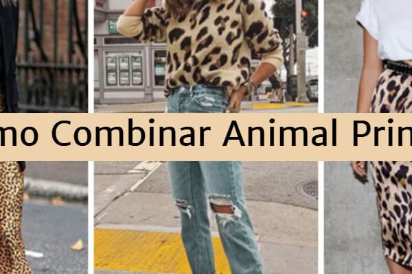 Cómo combinar Animal Print