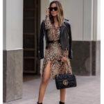 Cómo Combinar Vestido Animal Print look Sofisticado