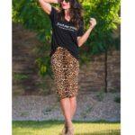 Falda Leopardo + Negro