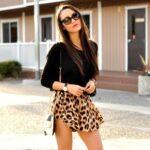 Look Falda Leopardo