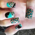 Leopardo + Azul