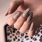 Uñas Animal Print Leopardo