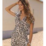 Vestido + Color Beige