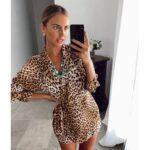Vestido Verano Leopardo